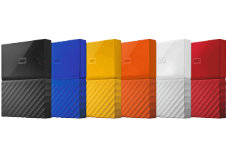 Western digital jaune te rouge